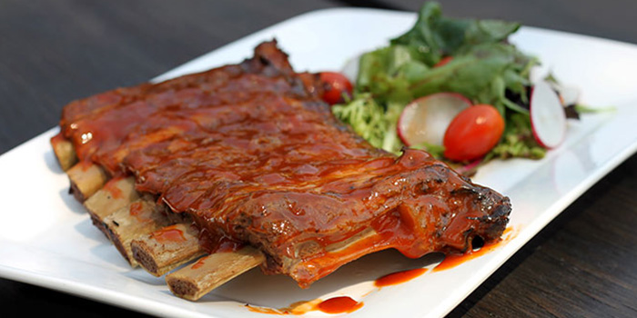 Righteous Pork Ribs from Handlebar @ Gillman Barracks in Telok Blangah, Singapore