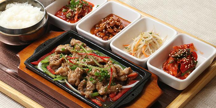 BBQ Pork from Hyang-To-Gol Korean Restaurant (Raffles City) in City Hall, Singapore