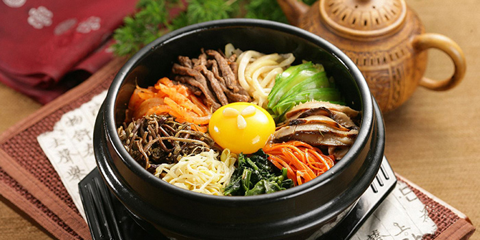 Dolsot Bibimbap from Hyang-To-Gol Korean Restaurant (Raffles City) in City Hall, Singapore