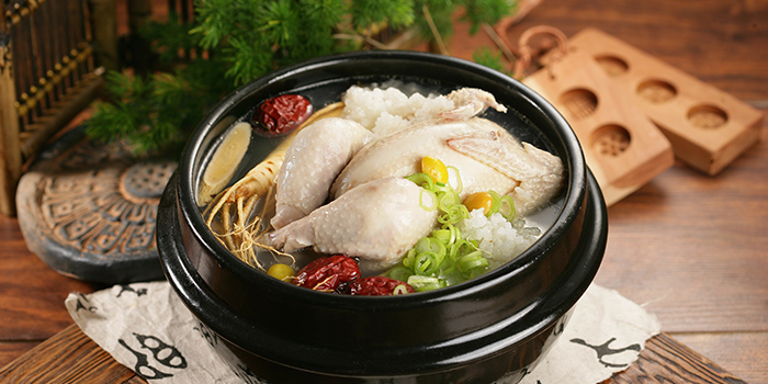 Ginseng Chicken from Hyang-To-Gol Korean Restaurant (Raffles City) in City Hall, Singapore