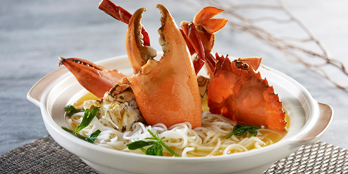 Crab Bee Hoon from Imperial Feast Restaurant at THE CHEVRONS in Jurong, Singapore