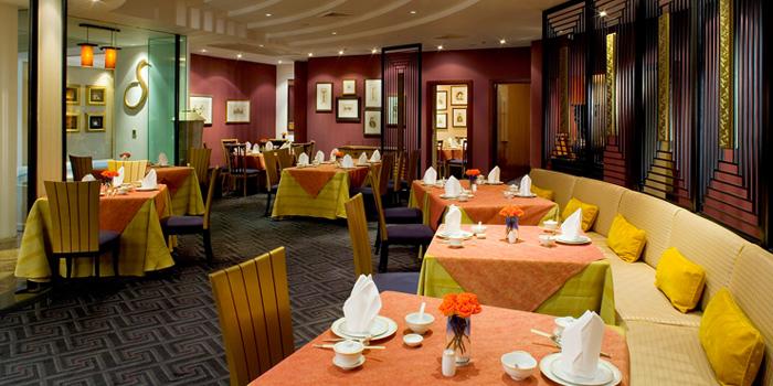 Interior of Silk Road at Plaza Athénée Bangkok, A Royal Meridien Hotel, Bangkok