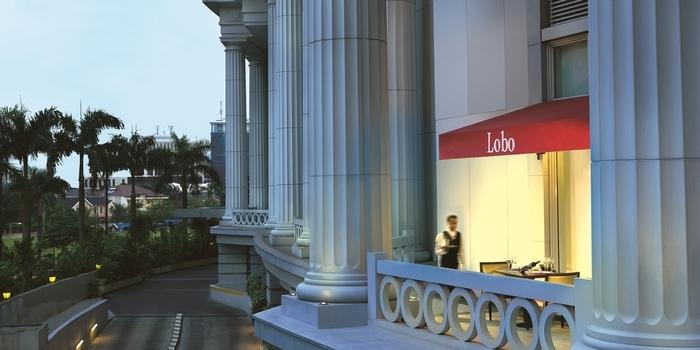 Interior 2 at Lobo Restauran Ritz Carlton, Jakarta