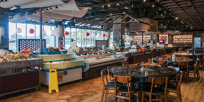 Interior of MANLE @ Downtown East in Pasir Ris, Singapore