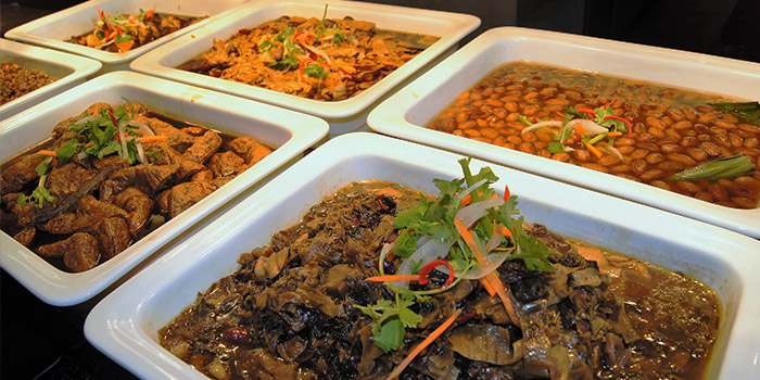 Teochew Porridge Dried Selection Buffet from MANLE Hotpot @ E!Avenue in Pasir Ris, Singapore