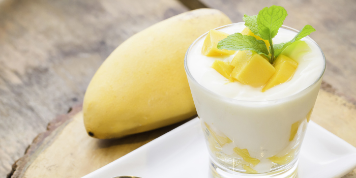 Mango Yogurt from ELLA Bar & Bistro in Patong, Phuket, Thailand.