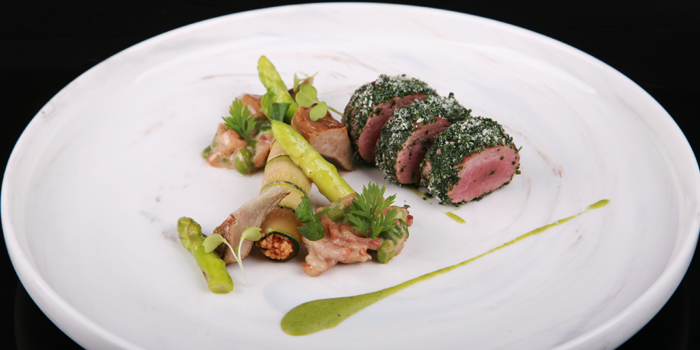 New Zealand Lamb from The Reflexions at Plaza Athénée Bangkok, A Royal Meridien Hotel, Bangkok