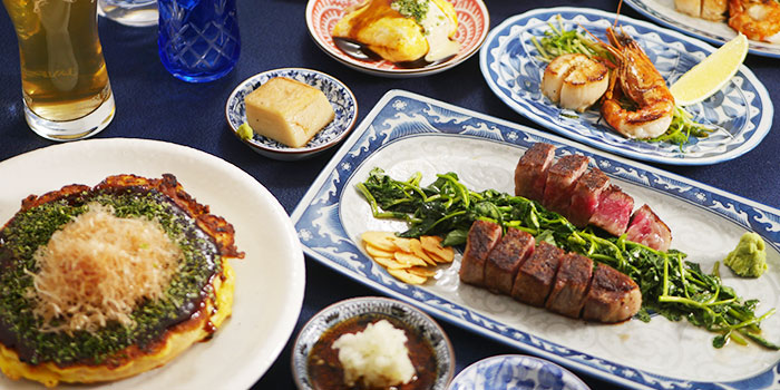 Teppanyaki Platter from Osaka Kitchen at Wisma Atria Shopping Centre in Orchard, Singapore