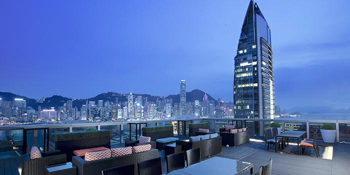 Outdoor Area of Qi - Nine Dragons, Tsim Sha Tsui, Hong Kong