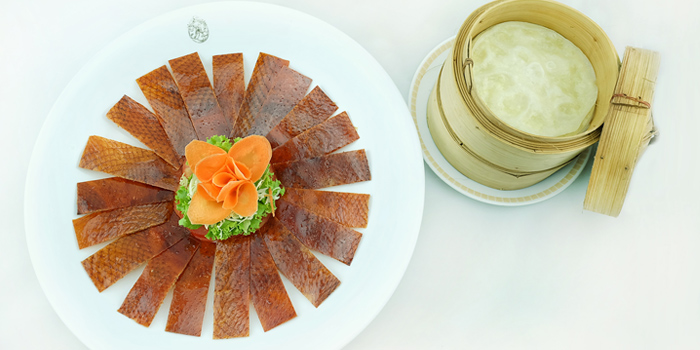 Peking Duck from Silk Road at Plaza Athénée Bangkok, A Royal Meridien Hotel, Bangkok