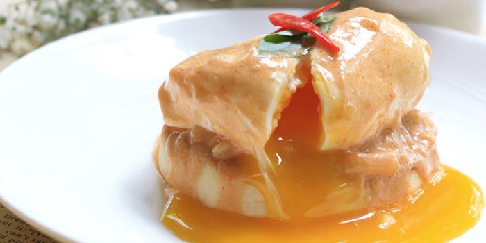 Poached Panaeng from The Rain Tree Café at Plaza Athénée Bangkok, A Royal Meridien Hotel, Bangkok
