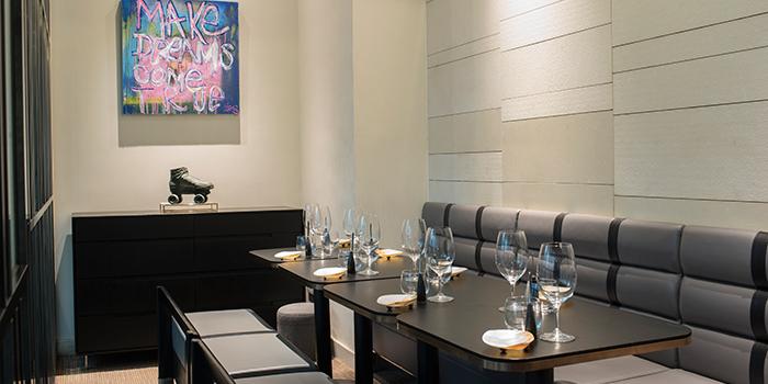 Private Room of restaurant Akrame, Wan Chai, Hong Kong