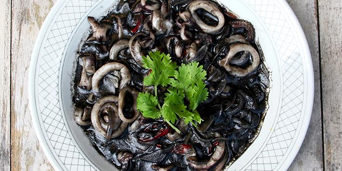Black Ink Calamari from Quentin