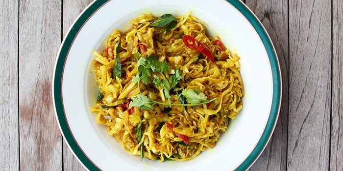 Tumeric Cabbage from Quentin