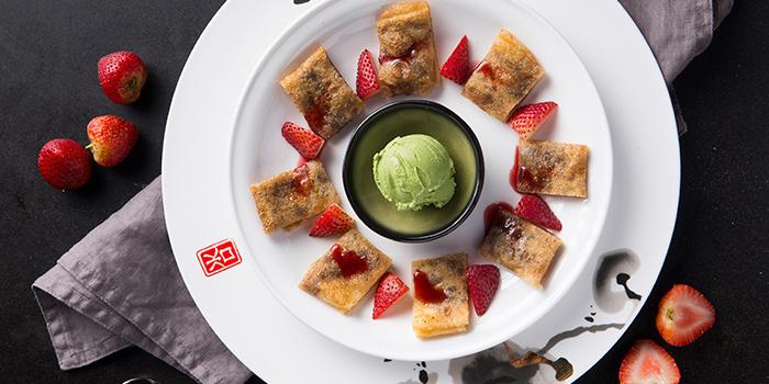 Red Bean Pancake with Icecream, Qi - Nine Dragons, Tsim Sha Tsui, Hong Kong