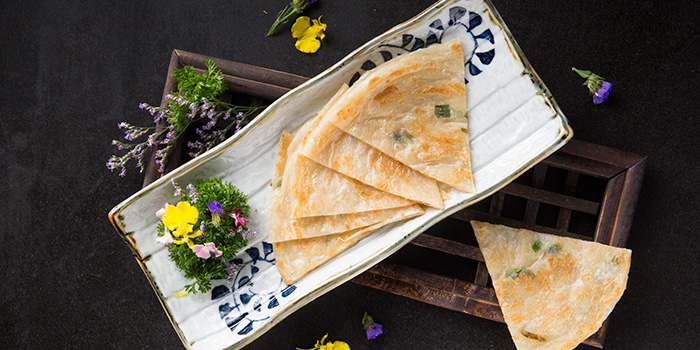 Scallion Pancake, Qi - Nine Dragons, Tsim Sha Tsui, Hong Kong
