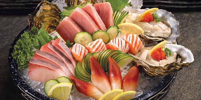 Sashimi Platter from Shin Kushiya at VivoCity in Harbourfront, Singapore
