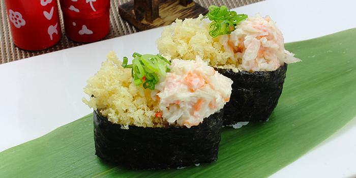 Crunchy Kani Sushi from Shin Minori Japanese Restaurant @ UE Square in Robertson Quay, Singapore