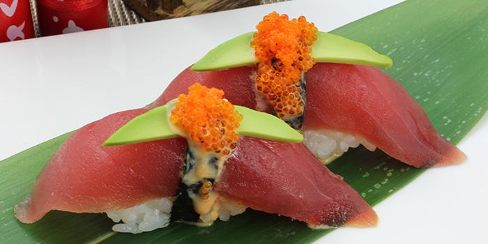 Karashi Maguro Sushi from Shin Minori Japanese Restaurant @ UE Square in Robertson Quay, Singapore