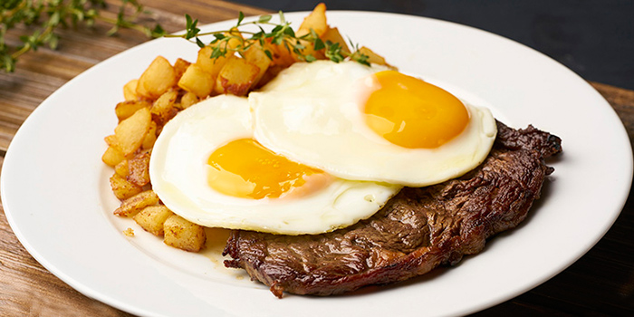 Steak and Eggs from Ninethirty in East Coast, Singapore