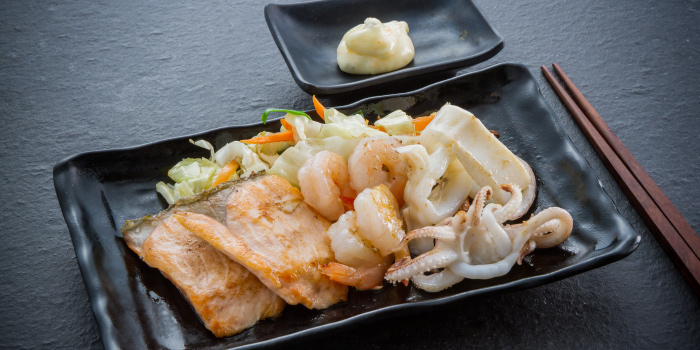Steak from Tori Japanese Buffet Restaurant in Mueng, Phuket, Thailand