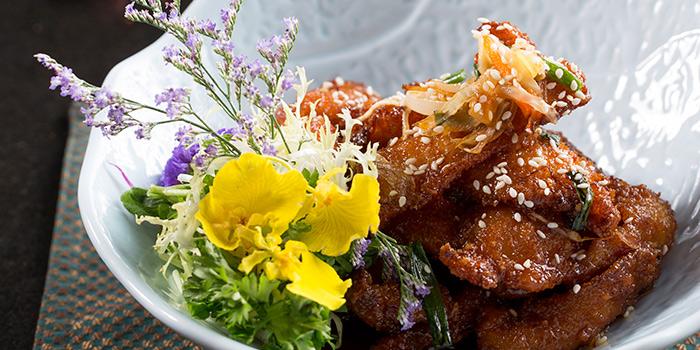 Sugar Glazed Ginger Scallion Chicken, Qi - Nine Dragons, Tsim Sha Tsui, Hong Kong