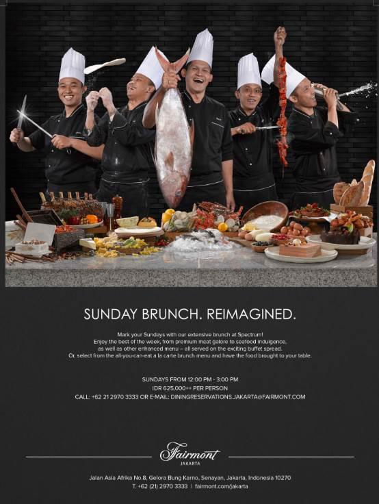 Spectrum Fairmont Jakarta Chope Free Online Restaurant Reservations