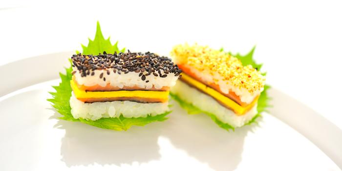 Sushi Club Sandwich from Utage at Plaza Athénée Bangkok, A Royal Meridien Hotel, Bangkok