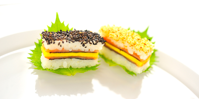 Sushi Club Sandwich from Utage at Plaza Athénée Bangkok, A Royal Meridien Hotel, Bangkok