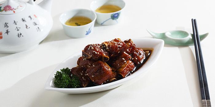 Sweet and Sour Petit Ribs, Zhejiang Heen, Wan Chai, Hong Kong