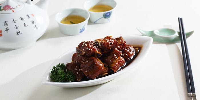 Sweet and Sour Petit Ribs, Zhejiang Heen, Wan Chai, Hong Kong