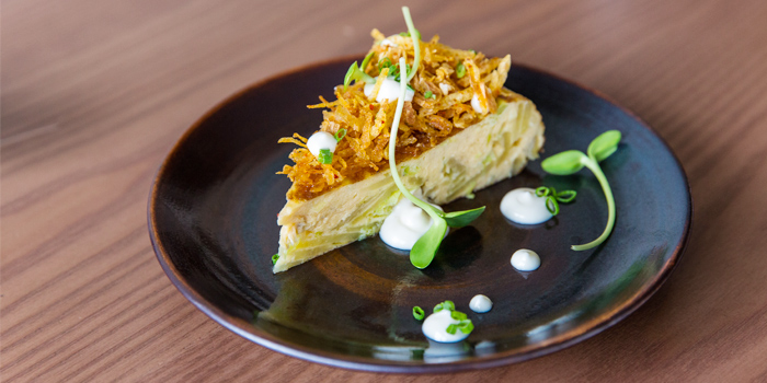 TORTILLA ESPANOLA from TORO at 72 Courtyard FL 1, 72 Sukhumvit 55 Thonglor, Bangkok