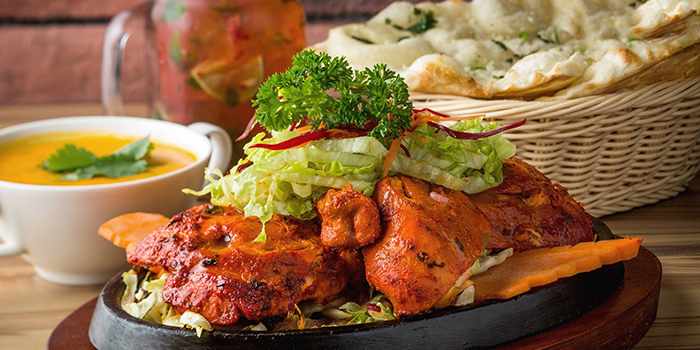 Tandoori, The Nest Restaurant & Bar, Jordan, Hong Kong