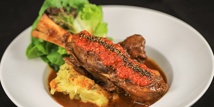 Lamb Shank from The Mask in Boat Quay, Singapore