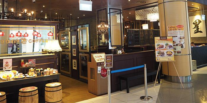 Exterior of Hoshino Coffee (Suntec City) in Promenade, Singapore