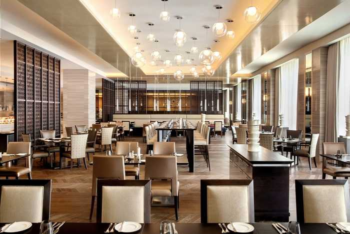 Main Dining Area at Spectrum (Fairmont Hotel)