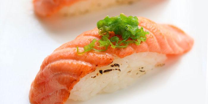 Saki Shisito Sushi at Aoki Japanese Cuisine