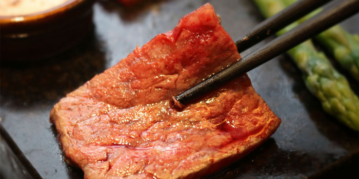 Wagyu Ishiyaki at Aoki Japanese Cuisine