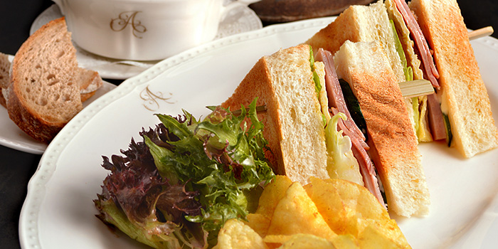 Honey Baked Ham Club Sandwich from Antoinette (Mandarin Gallery) in Orchard Road, Singapore