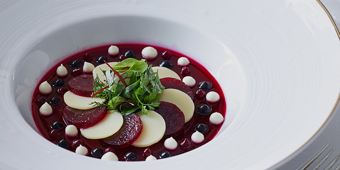 Beetroot Carpaccio with Jelly, Gaddi