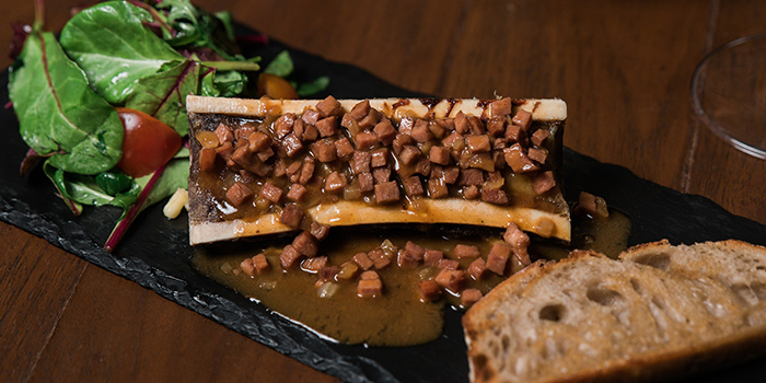 Bone Marrow from Napoleon Food & Wine Bar at Telok Ayer in Raffles Place, Singapore