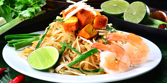 Pad Thai from Central Thai in Central Thai at Changi Airport Terminal 2 in Changi, Singapore
