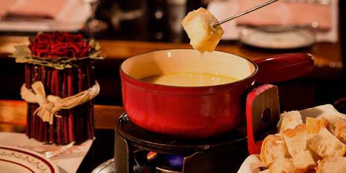 Cheese Fondue, Chesa, Tsim Sha Tsui, Hong Kong