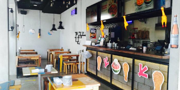 Interior of Chicken Up (Buangkok) in Sengkang, Singapore
