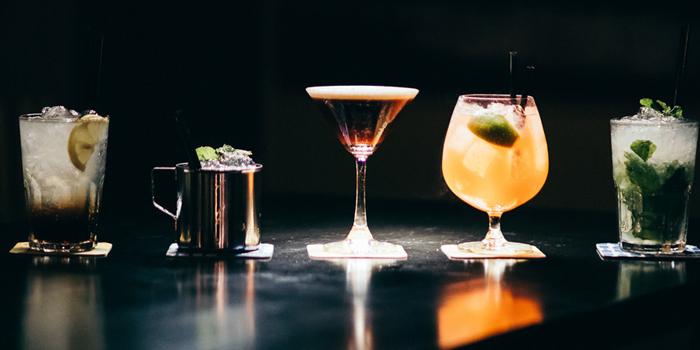 Cocktails Set from Le Cafe Des Stagiaires in Sathorn Soi 12, Bangkok