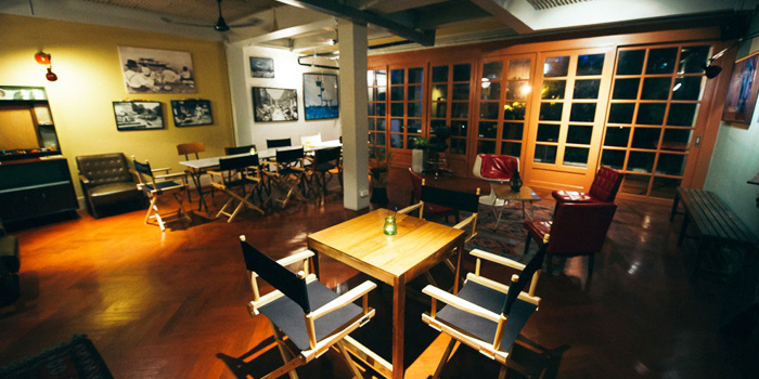 Dining Area from Le Cafe Des Stagiaires in Sathorn Soi 12, Bangkok