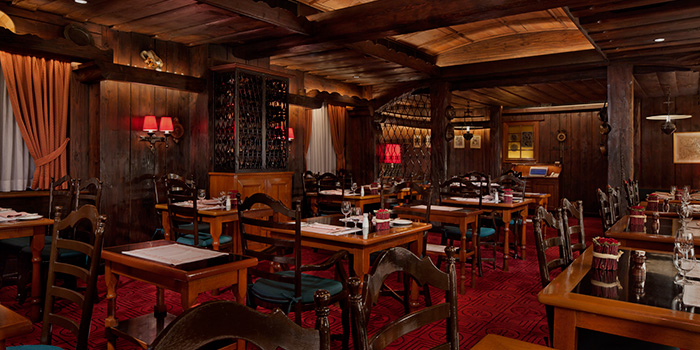 Dining Area of Chesa, Tsim Sha Tsui, Hong Kong