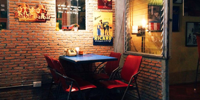 Dining Table from Le Cafe Des Stagiaires in Sathorn Soi 12, Bangkok
