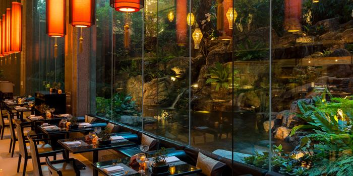 Dining Table from Romsai  at Banyan Tree Bangkok in Sathorn, Bangkok