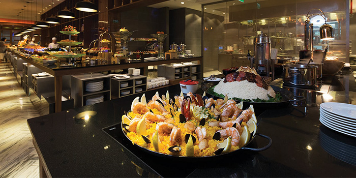 Buffet Spread from Element Restaurant at Amara Hotel in Tanjong Pagar, Singapore